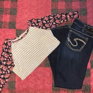 Women's Silver Jeans - Tuesday
